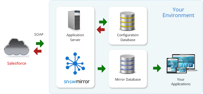 Try SnowMirror for Salesforce